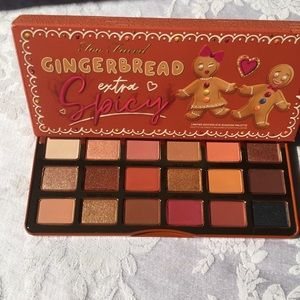 NIB Too Faced Gingerbread Spicy Palette